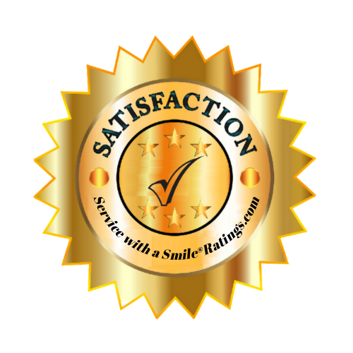 satisfaction emblem